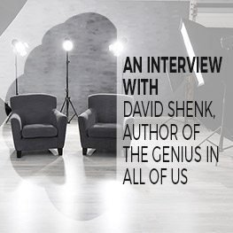 Interview with David Shenk