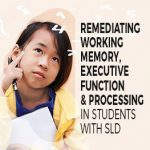 Remediating Working Memory and Executive Function in SLD
