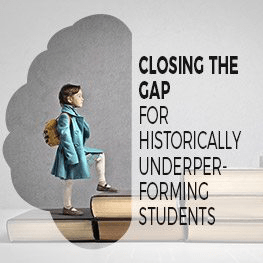 Closing the Gap Historically Underperforming Students