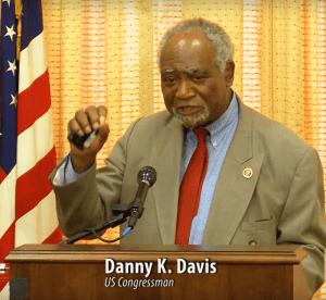 US Congressman Danny K Davis