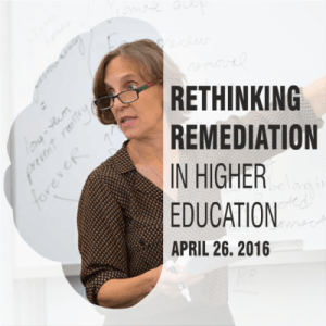 Rethinking Remediation Higher Education
