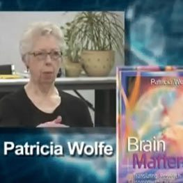 Dr Pat Wolfe, author of Brain Matters