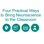 Four Practical Ways to Bring Neuroscience to the Classroom