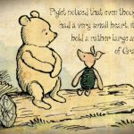 Gratitude - Winnie the Pooh and Piglet