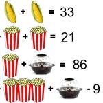 Brainy Popcorn Puzzle