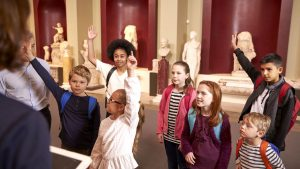 Students Visiting Museum
