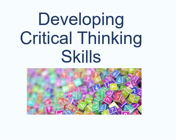 developing critical thinking skills in students