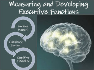 Measuring Developing Executive Functions