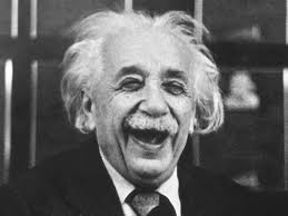 Einstein Laughing