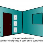 Light Bulbs Outside the Door