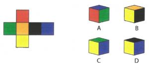 Folded Cube Puzzle
