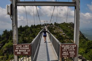 Mile High Swinging Bridge NC