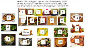 Thanksgiving Puzzle Answer
