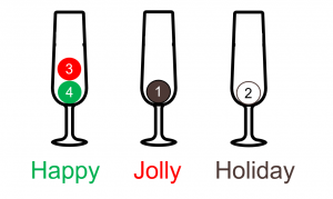 Happy Jollly Holiday Puzzle 2 Moves