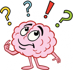 Brain with Questions
