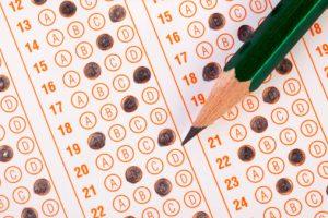 Standardized Test Answer Sheet